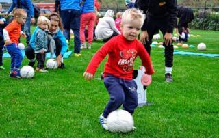 VOP tweede lokale club met peutervoetbal