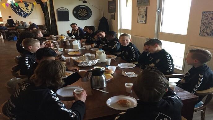 Team ontbijt bij VOP? Of andere wensen?