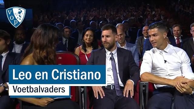 Leo en Cristiano, voetbalvaders