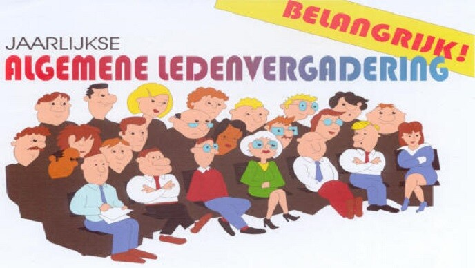 Algemene Ledenvergadering 5 november: Save the Date